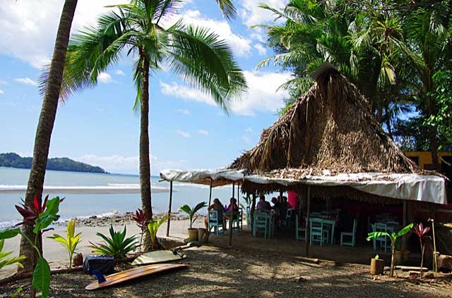 Beach Bar in Santa Catalina